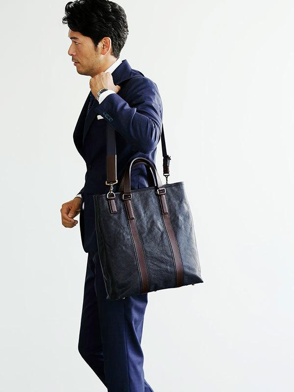 春のビジネストートはスタイリッシュ、かつ楽に。土屋鞄製作所から新作バッグが登場!  2番目の画像