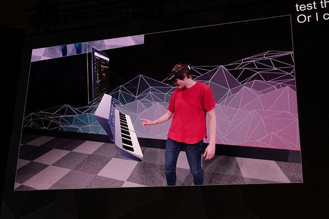 西田宗千佳のトレンドノート:マイクロソフトがHoloLens 2を「モバイル関連展示会」で発表する意味   4番目の画像