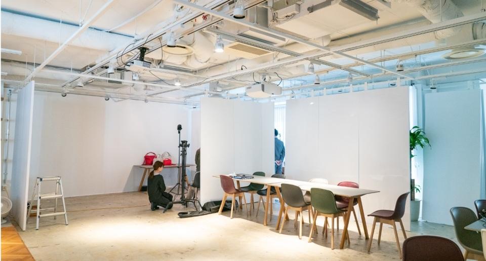 渋谷駅から徒歩5分!ブランディングに活用できる撮影スタジオスペースがオープン 1番目の画像