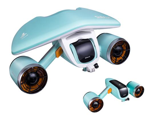 マリンダイビングフェア 2019で今夏新発売予定のSUBLUE社製水中スクーター「SEABOW」「Swii」が登場 2番目の画像