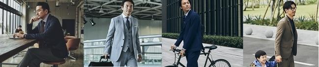 リモートワークや自転車通勤に。三陽商会人気ブランドからビジネススタイルに合わせた機能性ジャケットが発売 2番目の画像
