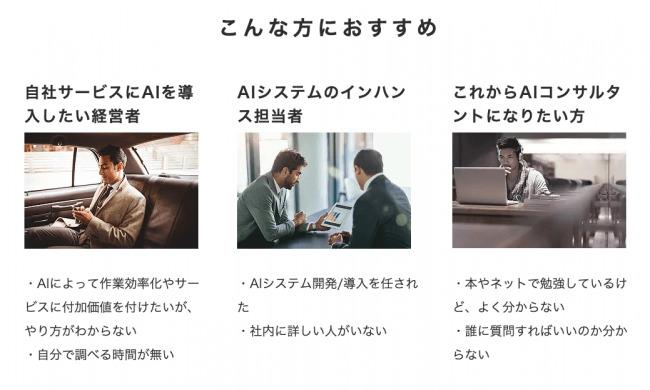 月額1万円からチャットでAIの相談ができる!チャットでAI導入や開発、学習の質問や相談ができるサービス「AIコンサルタント Alice-Chat」をリリース 2番目の画像