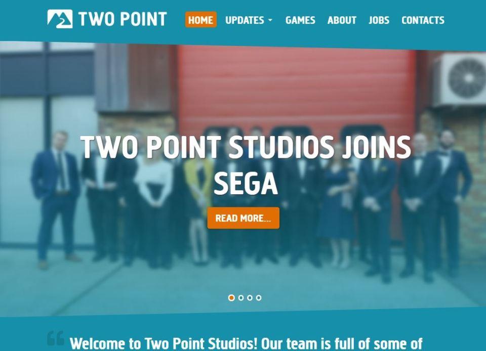 多数の受賞実績を有する開発会社Two Point Studiosの全株式をセガゲームスが取得、世界のSEGAを目指す 1番目の画像