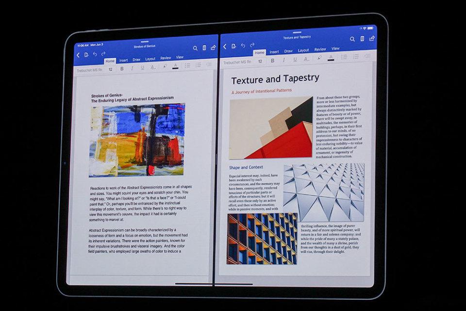 西田宗千佳のトレンドノート:「iPadOS」登場でiPadは「パソコン代わり」になるのか 2番目の画像