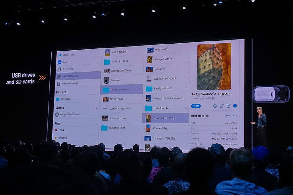 西田宗千佳のトレンドノート:「iPadOS」登場でiPadは「パソコン代わり」になるのか 4番目の画像
