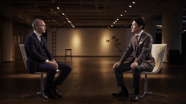 """イニエスタ選手がコンサル企業の""""CEO""""に。「日本の企業もサッカーもまだまだ可能性がある」 2番目の画像"""