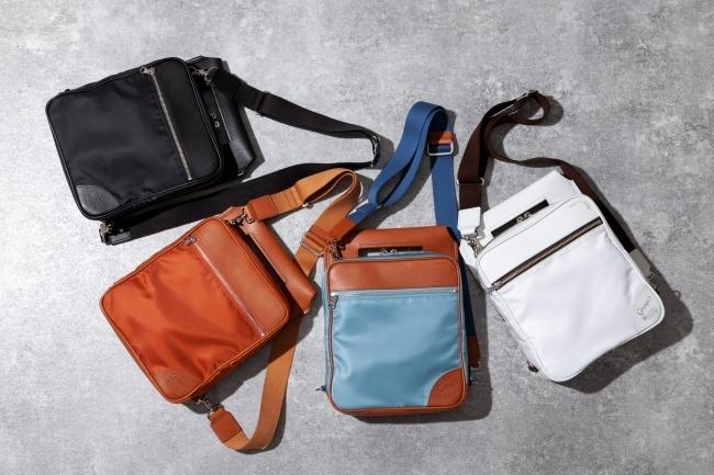 伝統の職人技と機能性とファッション性を兼ね備えた、ハイブリッドなバッグが新登場。オンオフ問わないこなれ感が秀逸! 1番目の画像