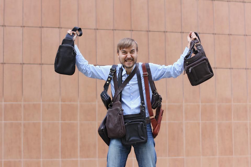 失敗しないメンズ用ボディバッグの選び方とおすすめのボディバッグブランド10選 2番目の画像