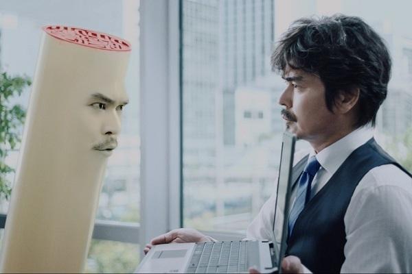 電子契約サービス「クラウドサイン」初のテレビCMが放送、小澤征悦さんがハンコ役を熱演 1番目の画像