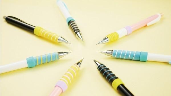 触り心地や太さが自由自在、自分でグリップを巻いて完成させるシャープペンが登場 5番目の画像