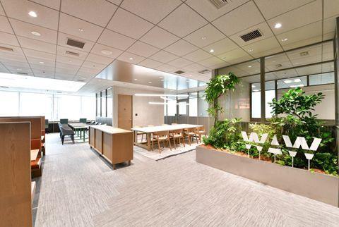 会員制シェアオフィス「WAW赤坂」がオープン!フリーアドレスオフィス、ドリンクサーバー、屋上ガーデンを完備 1番目の画像