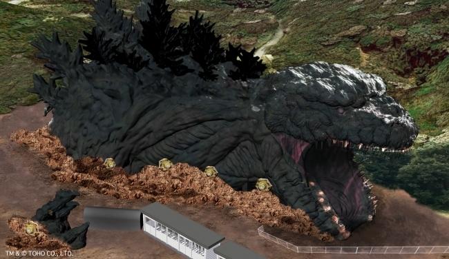 全長約120メートルの等身大ゴジラが淡路島に上陸!新アトラクション、2020年夏にオープン予定 1番目の画像