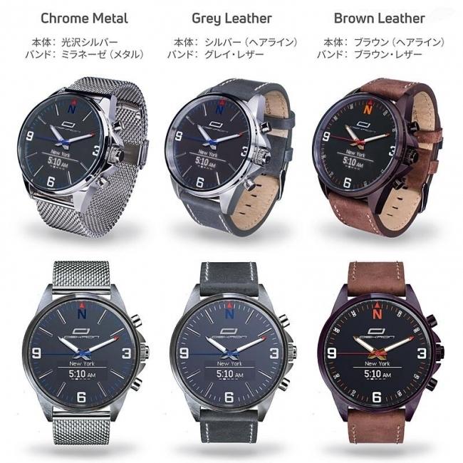 ビジネスマン向けのアナログ時計型スマートウォッチ「OSKRON」、先行予約販売スタート 4番目の画像