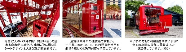 池袋の街を電気バス「IKEBUS」が巡る!水戸岡鋭治デザイン、11月27日から運行開始 6番目の画像