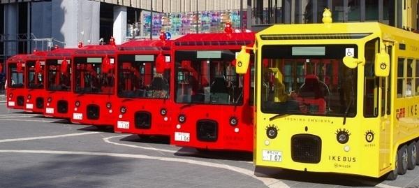 池袋の街を電気バス「IKEBUS」が巡る!水戸岡鋭治デザイン、11月27日から運行開始 1番目の画像