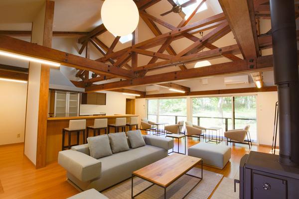 長野・八ヶ岳のコワーキングスペース「富士見 森のオフィス」に宿泊交流施設がオープン 1番目の画像