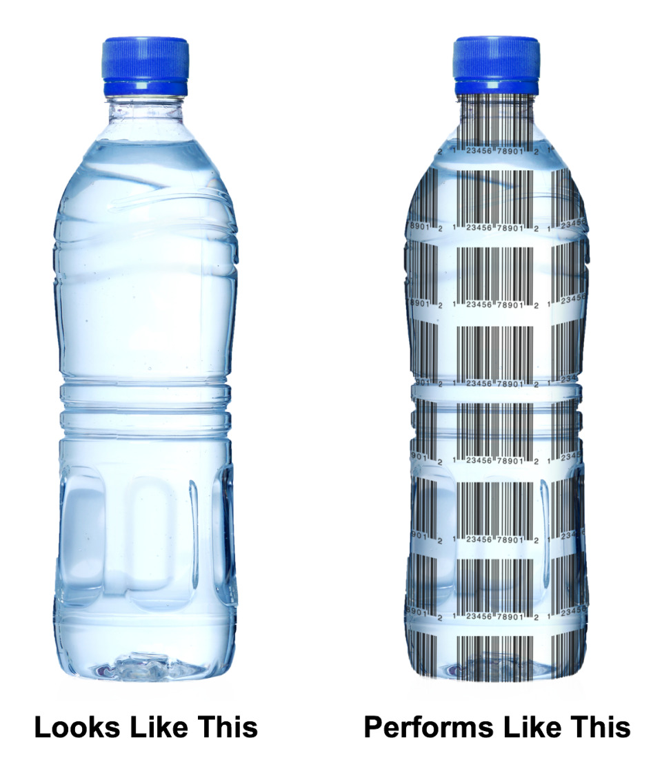 見えないバーコードで容器の分別、効率化でリサイクルにも貢献 2番目の画像