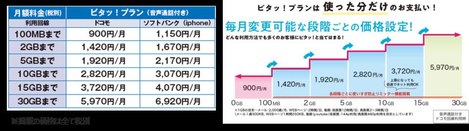 HISモバイルが新プラン「ビタッ!プラン」を提供スタート、出張時や2台目スマホにも 3番目の画像