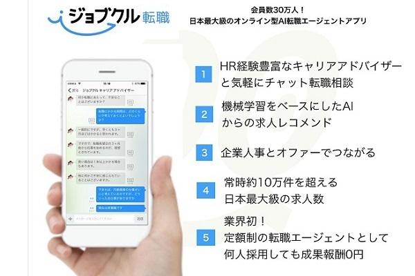 月額7万5千円で採用し放題の「サブスク転職エージェントサービス」が登場 2番目の画像