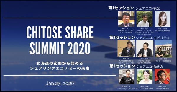 北海道初「シェアサミット」を開催!シェアリングエコノミーをテーマに観光・モビリティ・働き方を学ぶ 2番目の画像