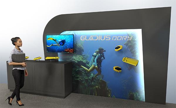 水中ドローンのCHASING社、世界最大級の民生技術の展示会「CES2020」に出展 日本人スタッフも配置 1番目の画像