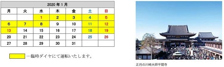 年末年始の終夜運転・臨時列車まとめ【2019~2020年 首都圏版】JR東・京成・東武・西武・京王・小田急・東急・京急・相鉄・ゆりかもめ・りんかい線・都営地下鉄・東京メトロ 12番目の画像