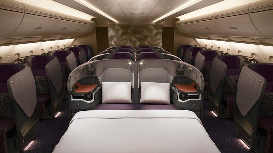 シンガポール航空が成田-シンガポール路線に新客室仕様のA380-800Rを投入 ビジネスの利便性を重視 1番目の画像
