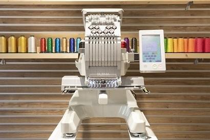 名古屋のタジマ工業、デジタル刺繍ミシン無料体験イベントを開催 企業ロゴなど想定、予約受付中 3番目の画像