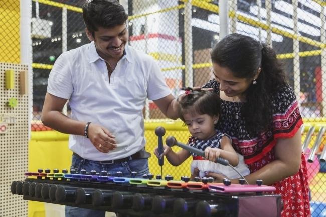 バンダイナムコ、インド2店目のアミューズメント施設を開業 800坪以上の大型店、同国初のデジタルスポーツアクティビティを常設 3番目の画像
