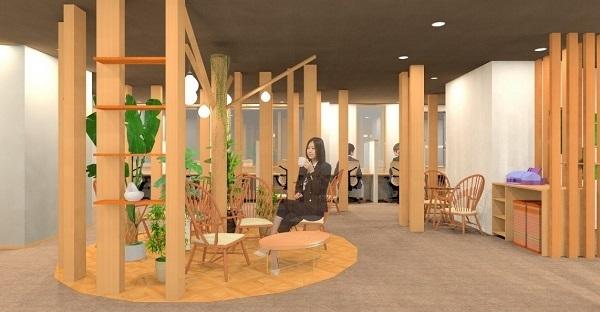 千葉・妙典駅近くに「大人の秘密基地をイメージしたシェアオフィス」が誕生へ ツリーハウスがコンセプト 1番目の画像