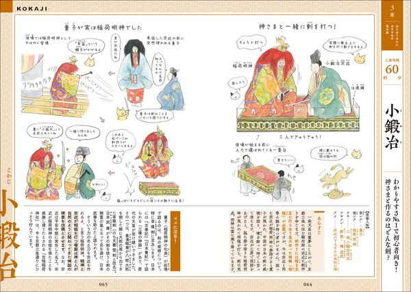 教養としての古典芸能。イラストで基本から理解できる「マンガでわかる能・狂言」が発売 1番目の画像