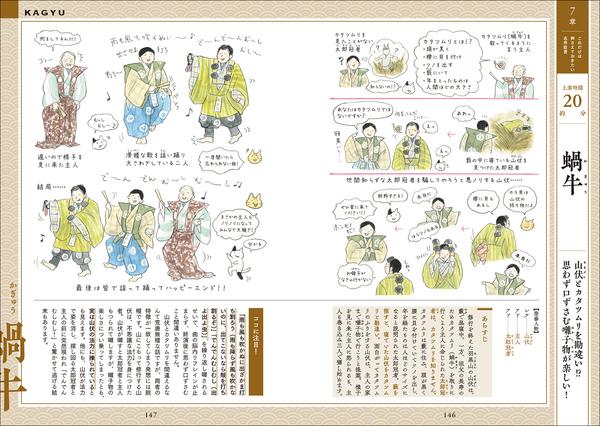 教養としての古典芸能。イラストで基本から理解できる「マンガでわかる能・狂言」が発売 5番目の画像