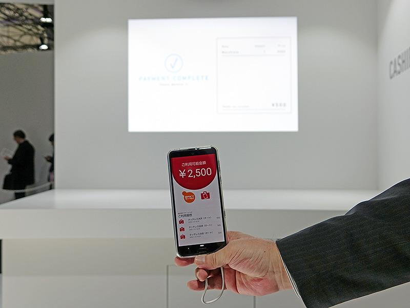 5Gの商用目前、ドコモが展示会で見せた非接触決済の新たな方向性【石野純也のモバイル活用術】 2番目の画像