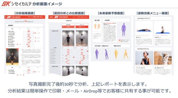 東大発スタートアップが体の歪みを3Dで分析し数値化する姿勢分析システムを開発 ジムや整骨院向け 2番目の画像