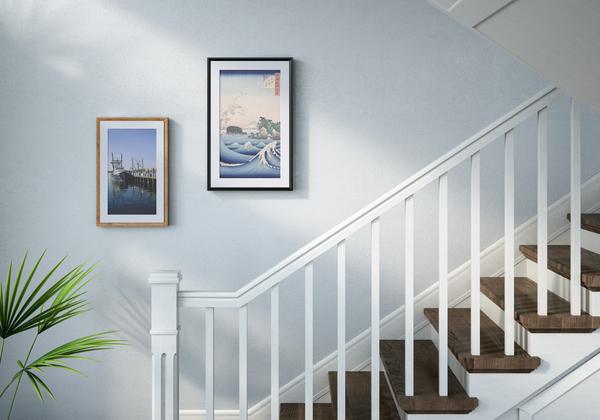 本物の絵画の筆遣いや色彩を表現できるデジタルキャンパス「Meural Canvas Ⅱ」が登場 1番目の画像