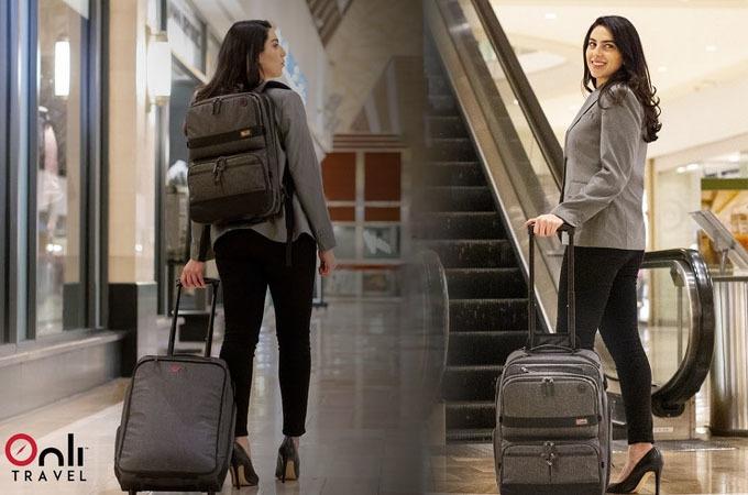出張の手荷物が1つにまとまるスーツケースVenture Rolling Packが発売! 7番目の画像