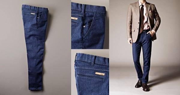 エドウイン、使えるビジネスデニム「デニスラ」を発売!ジャケットに合うスッキリしたシルエット 3番目の画像