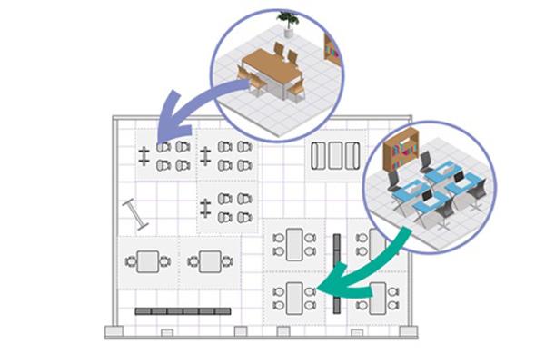 安心の月額定額制!モジュール単位でオフィス家具をレンタルできるサービス「グリプラ」始まる 2番目の画像