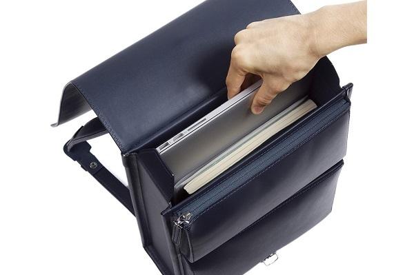 ビジネスでの使いやすさを追求した「大人ランドセル」新型が発売!ラージサイズは15インチのノートPCも収納可 5番目の画像