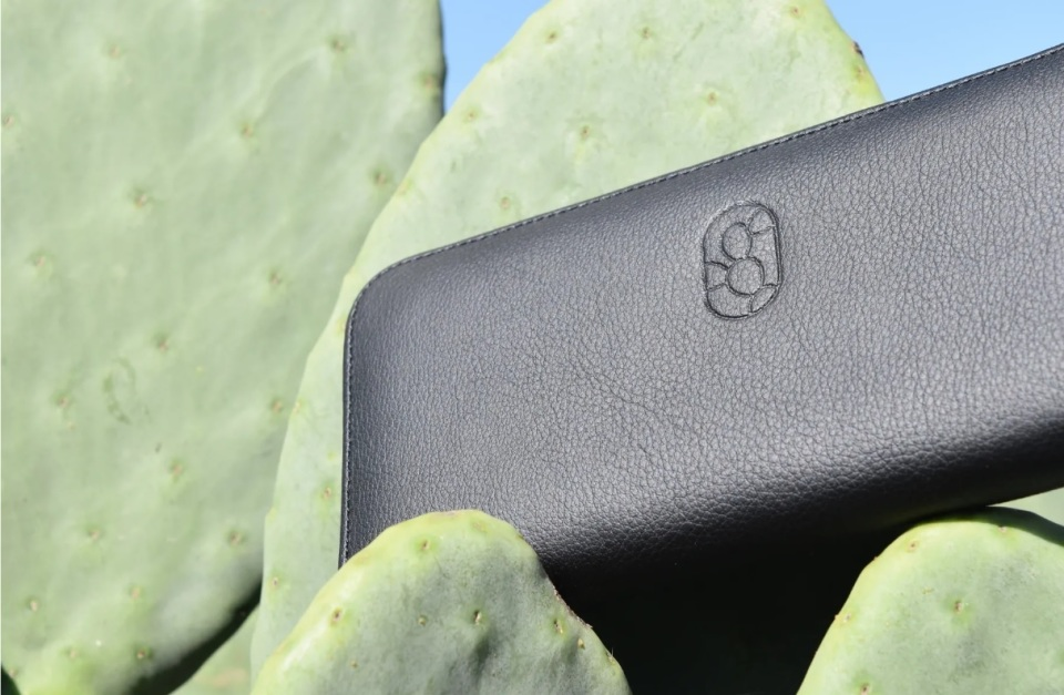 【取材】メキシコ発!サボテンを原料としたエコな革製品が誕生。「本皮と同等レベルの丈夫さを追求」 1番目の画像