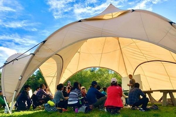 屋外を活用した「オープンエアミーティング」プランが登場、密閉空間でない非日常環境でゆったり会議を 1番目の画像