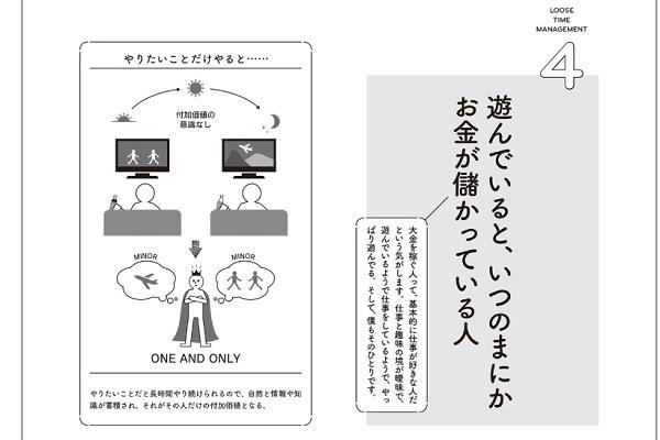 IT起業家・ひろゆき氏の頭の中を図解、書籍「なまけもの時間術 管理社会を生き抜く無敵のセオリー23」発売 4番目の画像