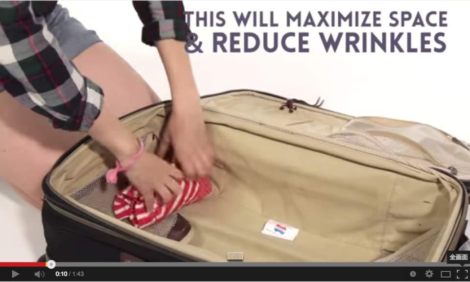 【シャンプーはコンタクトケースの中?】スーツケースに全て収まる、話題の「神業収納テク」動画 2番目の画像
